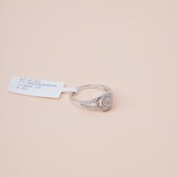 خاتم الماس تصميم ناعم